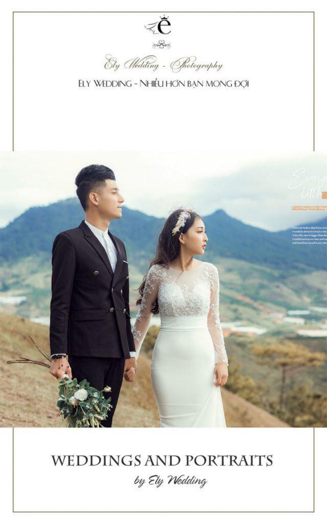 Bảng giá chụp ảnh cưới đà nẵng
