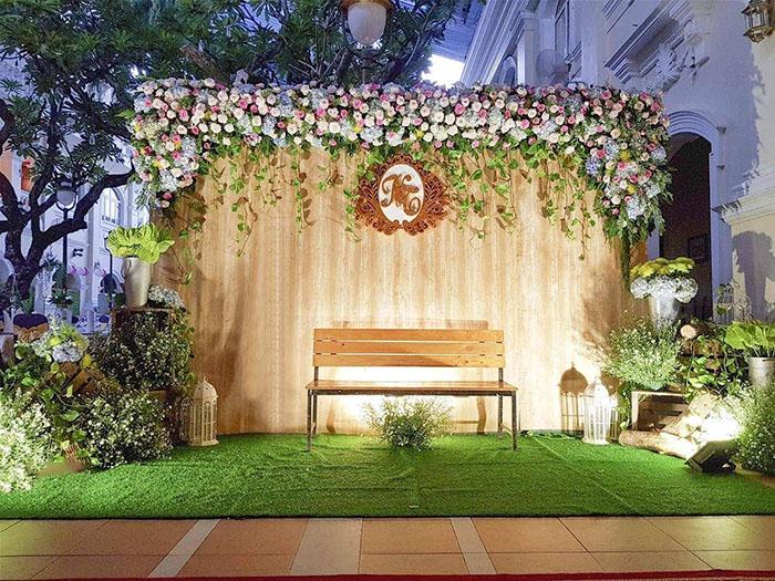 Top 10 mẫu phông bạt đám cưới đẹp ai cũng mê
