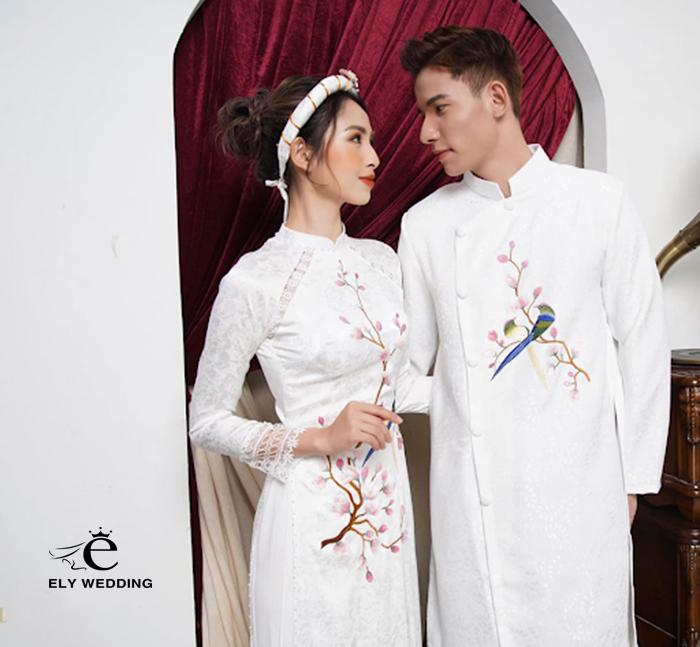 Top 100+ mẫu áo dài cưới uyên ương cho mùa cưới