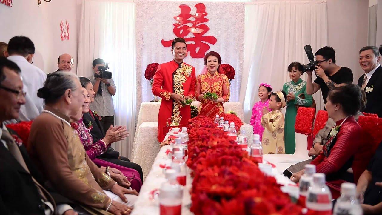Đám hỏi, đám cưới nên chung hay riêng?