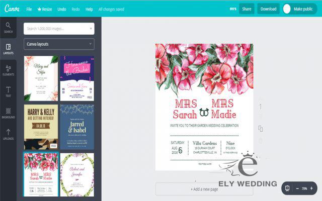 Top 6 ứng dụng thiết kế thiệp cưới online Hot nhất
